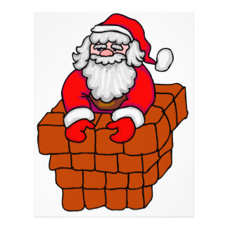 Santa's Stuck Letterhead