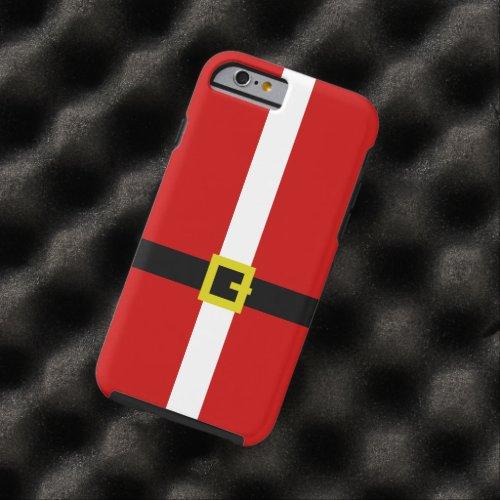 Santas Suit  Christmas Tough iPhone 6 Case