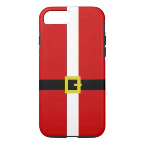 Santas Suit  Christmas iPhone 87 Case