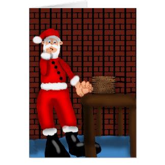 Santa's Temptation Card