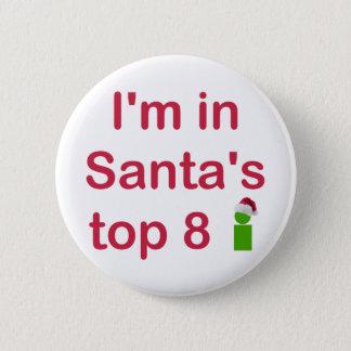 Santa's Top 8 Button
