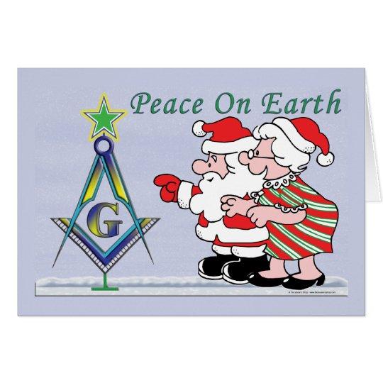 Santa's Tree Card
