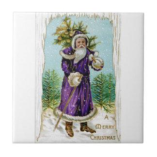 Santa's Tree Tile