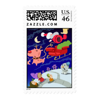 Santa's Trippin' Stamp