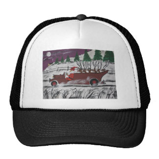 Santa's Truckload Trucker Hat