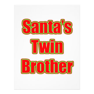 Santa's Twin Brother Full Color Flyer