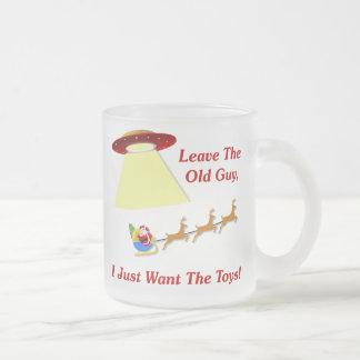 Santa's UFO Encounter Coffee Mug