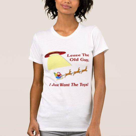 Santa's UFO Encounter T-Shirt