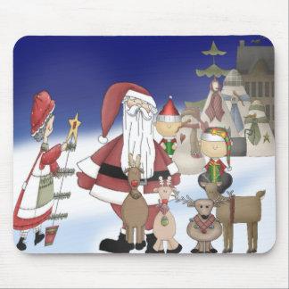 Santa's Village Mouse Pad