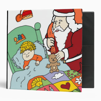 Santa's Visit II Binder