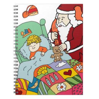 Santa's Visit II Notebook