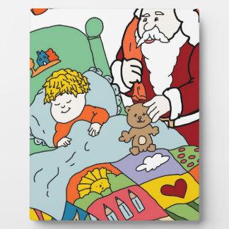 Santa's Visit II Display Plaques