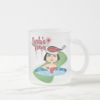 Santa's Vixen Mugs