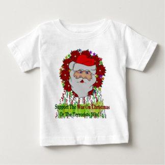 Santa's War On Xmas Baby T-Shirt