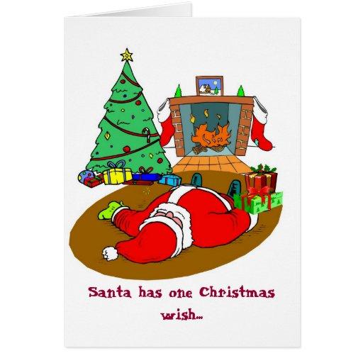 Santa's Wish Greeting Cards