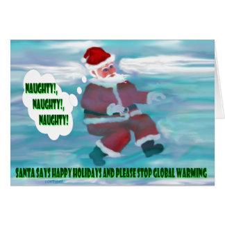 Santa's Wish List Greeting Cards