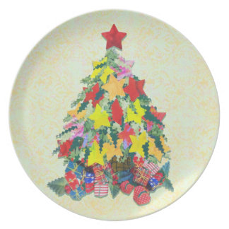 Santa's Work is Done Plates