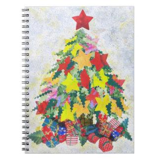 Santa's Work is Done Spiral Notebook