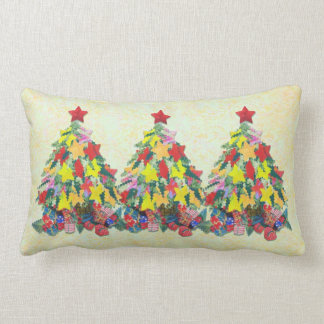 Santa's Work is Done Throw Pillow