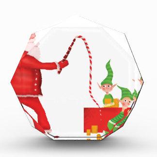 Santa's Workshop Acrylic Award