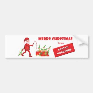 Santa's Workshop Bumper Sticker