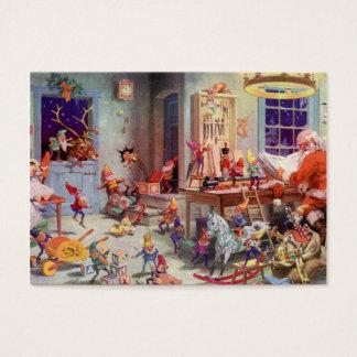 Santas Workshop Business Card