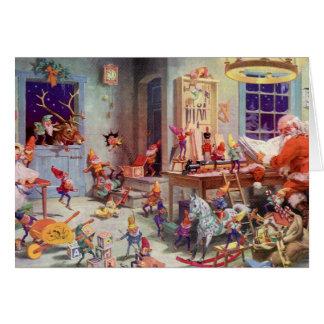 Santas Workshop Card