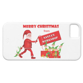 Santa's Workshop iPhone 5 Case