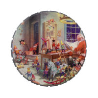 Santas Workshop Jelly Belly Tin