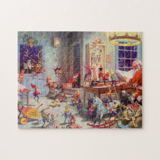 Santas Workshop Jigsaw Puzzle