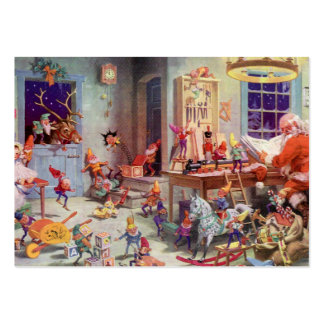 Santas Workshop Large Business Card