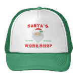 Santa's Workshop Mesh Hat