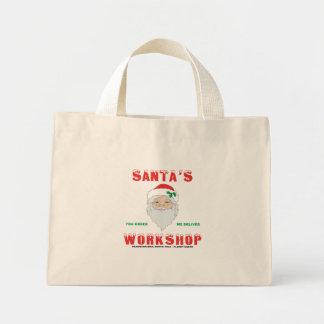 Santa's Workshop Mini Tote Bag