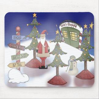 Santa's Workshop Mousepad
