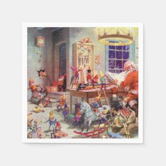 Santas Workshop Napkin