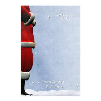 Santa's Workshop, North Pole Customized Stationery