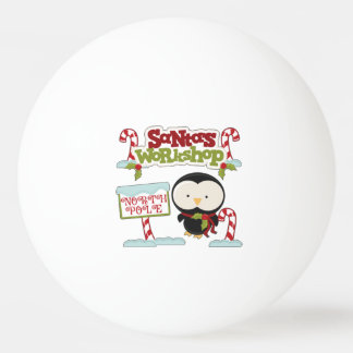 Santa's Workshop Penguin/Jolly Holidays Ping-Pong Ball