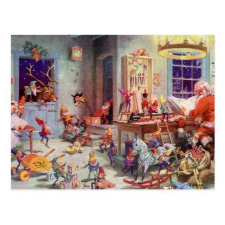 Santas Workshop Postcard