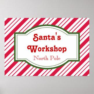 Santa's Workshop Poster