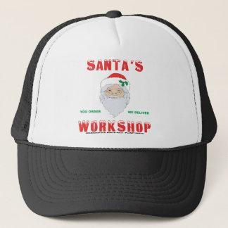 Santa's Workshop Trucker Hat