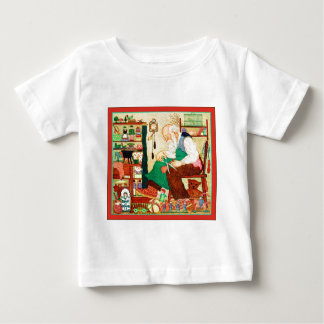 Santa's Workshop ~ Vintage Christmas Baby T-Shirt