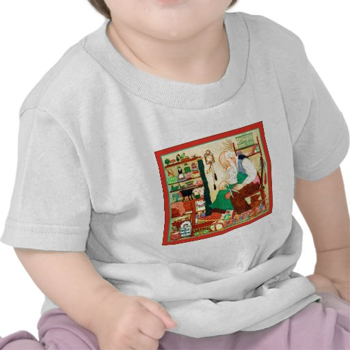 Santa's Workshop ~ Vintage Christmas T Shirts