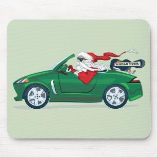 Santa's World Tour Convertible Mouse Pad