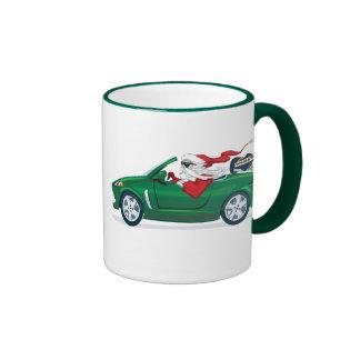 Santa's World Tour Convertible Ringer Mug