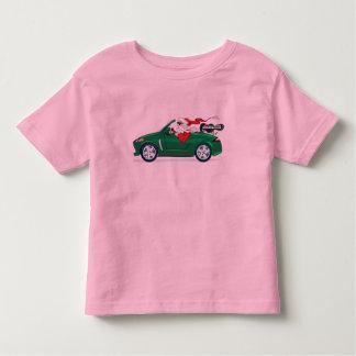 Santa's World Tour Convertible Toddler T-shirt