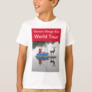 Santa's World Tour T-shirt