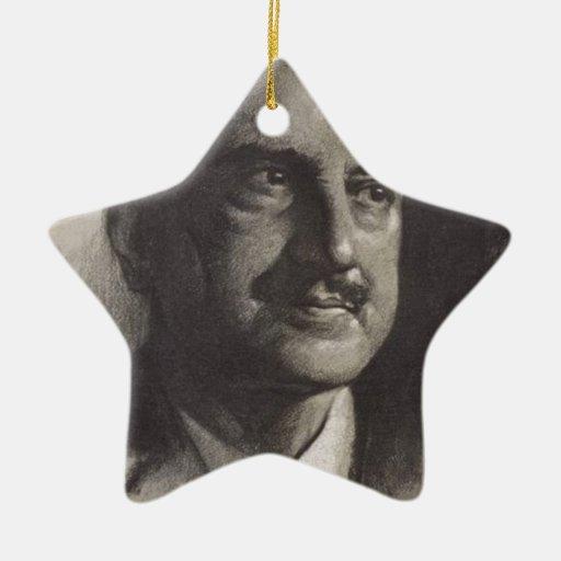 santayana de George Ornamento De Navidad