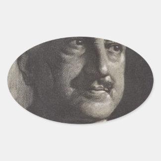 santayana de George Pegatinas Ovaladas