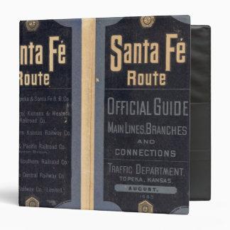 Sante Fe Route, California Binder