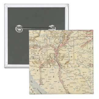 Sante Fe Route, California Button